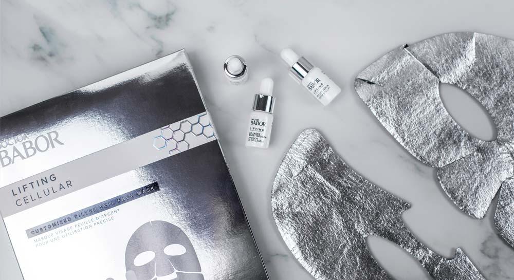 babor silver foil mask